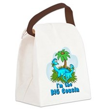 Big Cousin DINOSAURS Canvas Lunch Bag