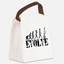 Unicycle Unicycling Unicyclist Canvas Lunch Bag