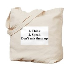 Don't mix them up Tote Bag