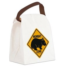 Wombat Zone Canvas Lunch Bag
