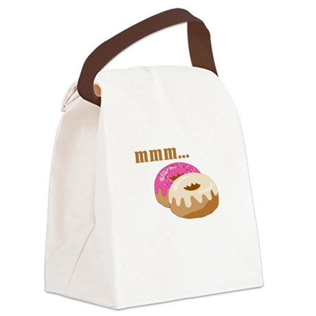 mmm... donuts Canvas Lunch Bag
