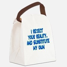"""""""Reality"""" Canvas Lunch Bag"""