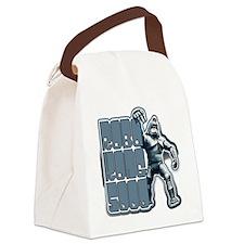RoboKong Mach5000 Canvas Lunch Bag