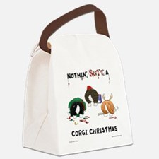 Nothin' Butt A Corgi Xmas Canvas Lunch Bag