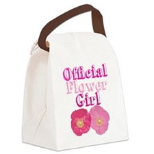 Official Flower Girl Canvas Lunch Bag