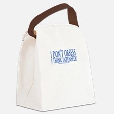 Don't Obsess Canvas Lunch Bag