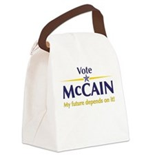Vote for John McCain Canvas Lunch Bag