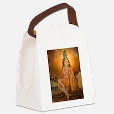 Krishna Ji Canvas Lunch Bag