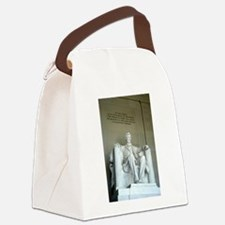 Lincoln - Vertical.jpg Canvas Lunch Bag