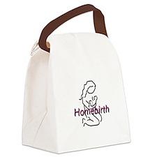 Homebirth Mama Canvas Lunch Bag