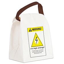High Energy Canvas Lunch Bag