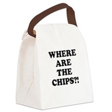 Chips! Canvas Lunch Bag