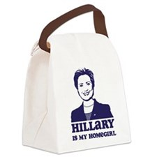 Hillary is My Homegirl Canvas Lunch Bag