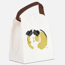 Watercolor Piggie Canvas Lunch Bag