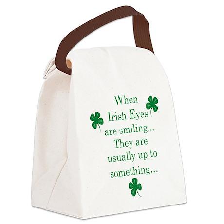 Irish Eyes Canvas Lunch Bag