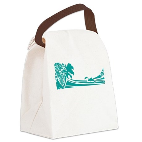 SURFER GIRL - Canvas Lunch Bag