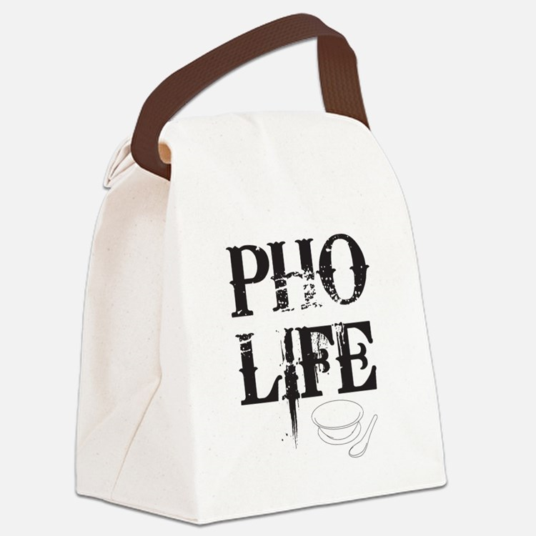 Pho Life Canvas Lunch Bag