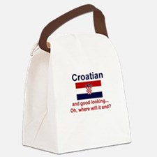 Good Looking Croatian Canvas Lunch Bag