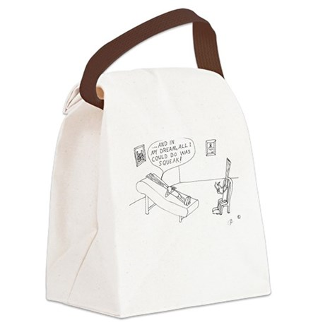 Reed Psychiatry Canvas Lunch Bag