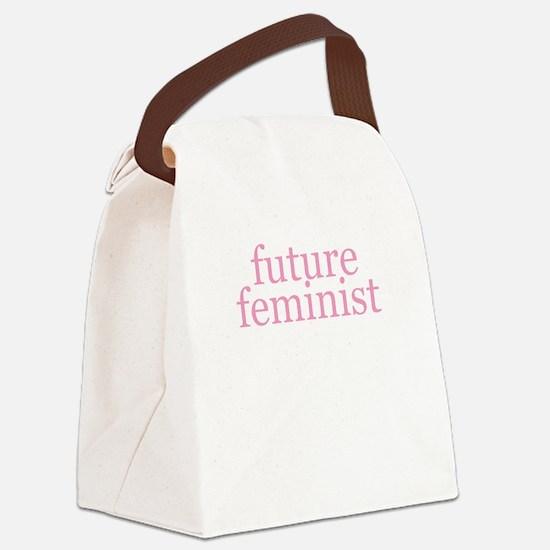 Future Feminist Canvas Lunch Bag