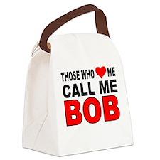 LOVE BOB Canvas Lunch Bag