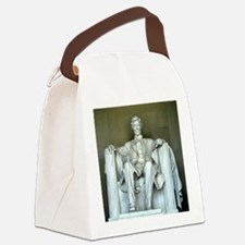 Licoln - Straight on - Square.jpg Canvas Lunch Bag