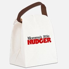 Mommy's Little Nudger Canvas Lunch Bag