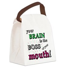 BOSS OF YOUR MOUTH Canvas Lunch Bag