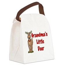 Grandma's Little Deer Canvas Lunch Bag