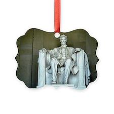 Lincoln - Straight on - Horizontal.jpg Ornament