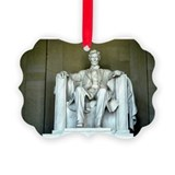 Lincoln memorial Picture Frame Ornaments