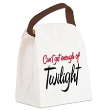 Can't Get Enough of Twilight Canvas Lunch Bag
