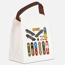 Unique Skate Canvas Lunch Bag