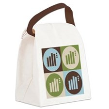 Statistics Pop Art Canvas Lunch Bag