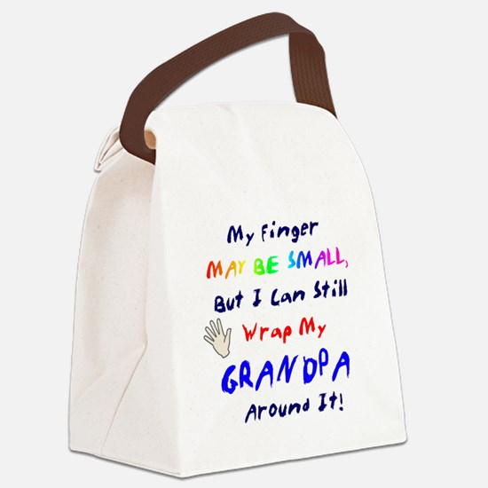 Unique Grandpa Canvas Lunch Bag