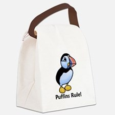 Puffins Rule! Canvas Lunch Bag