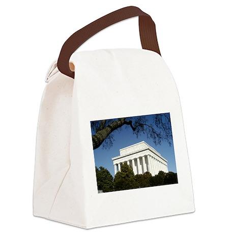 Lincoln Memorial - Horizontal.jpg Canvas Lunch Bag