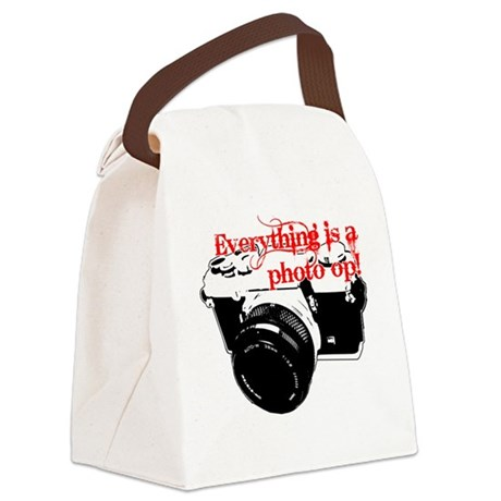 Everything's a photo op Canvas Lunch Bag