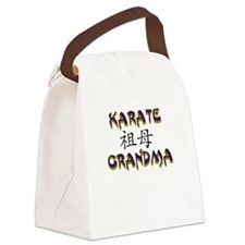 Karate Grandma Canvas Lunch Bag