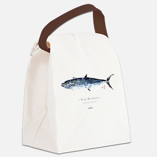 KIng Mackerel - Canvas Lunch Bag