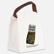 Daddy's Quiver Canvas Lunch Bag