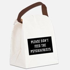 Psychiatrist Gift Canvas Lunch Bag