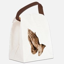 Durer's Praying Hands Canvas Lunch Bag