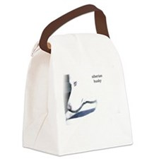 Funny Sleddog Canvas Lunch Bag