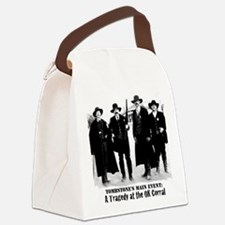 Tombstone's Main Event: OK Corral Canvas Lunch Bag