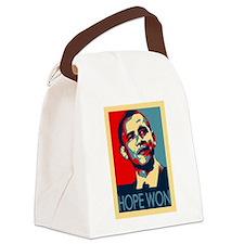 Obama Hope Won Canvas Lunch Bag