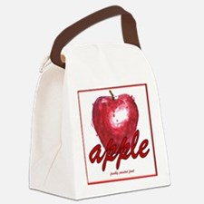 Delicious Red Apple Canvas Lunch Bag