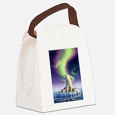Arctic Kiss 1 Canvas Lunch Bag