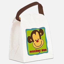 Monkey See Canvas Lunch Bag