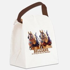 Strong Beautiful Belgians! Canvas Lunch Bag
